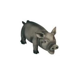 Latex Schwein schwarz grunzend