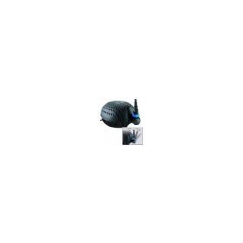 Bachlaufpumpe Koi Osaga Teichpumpe schwarze Flunder Eco OSF-6200E Teichfilter u