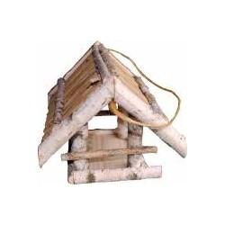 Futterhaus aus Birkenholz